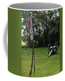 Where The Rebs Camp Coffee Mug