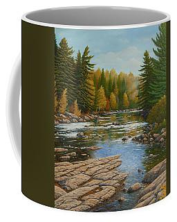 Where The River Flows Coffee Mug