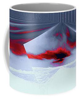 Where The Sky Bends Coffee Mug by Aliceann Carlton
