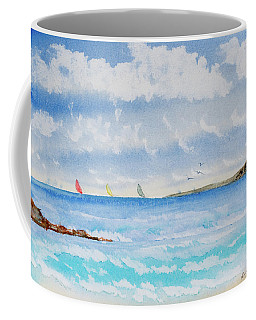 Where There's A Wind, There's A Race Coffee Mug