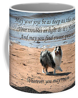 Wherever You May Roam Coffee Mug