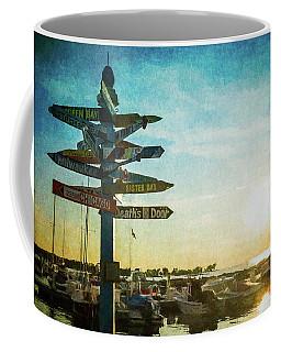 Which Direction Coffee Mug