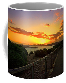 While You Walk Coffee Mug by Miroslava Jurcik