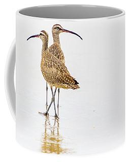 Whimbrel Sandpiper On The Beach Coffee Mug