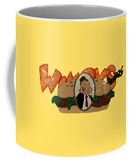Coffee Mug featuring the photograph Whimpy by Tom Prendergast
