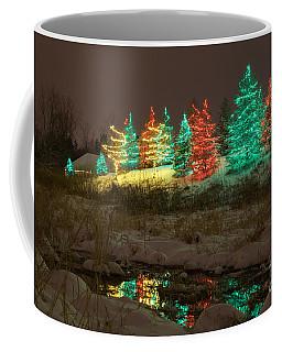 Whimsical Christmas Lights Coffee Mug