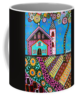 Whimsical Church Coffee Mug