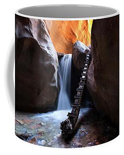 Whimsical Creek Crossing Coffee Mug