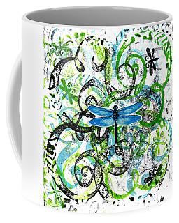Whimsical Dragonflies Coffee Mug