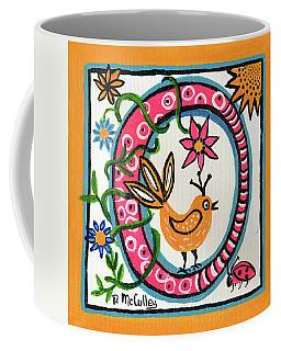Whimsical O Coffee Mug