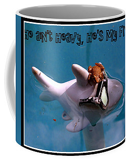Whimsical Shark Coffee Mug