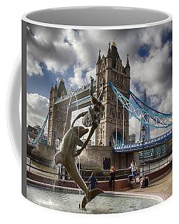 Whimsy At Tower Bridge Coffee Mug