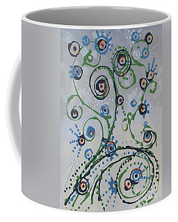 Coffee Mug featuring the painting Whippersnapper's Whim by Holly Carmichael