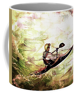 Coffee Mug featuring the photograph Whirlpool Kahyaker 5 by Marty Koch