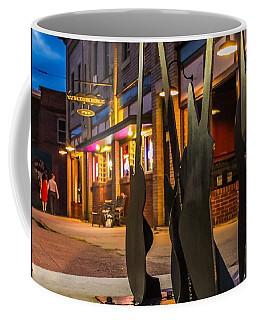 Whiskerz And Guitar Icons Coffee Mug