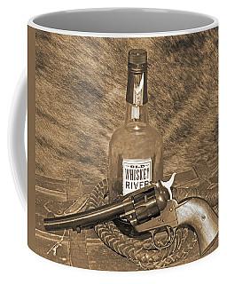 Whiskey And A Gun Coffee Mug