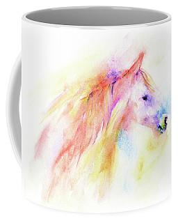 Coffee Mug featuring the painting Whisper by Elizabeth Lock