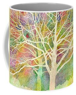Coffee Mug featuring the painting Whisper by Hailey E Herrera