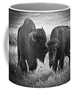 Whispering Bison Coffee Mug