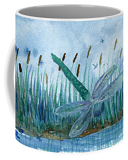 Whispering Cattails Coffee Mug
