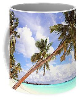 Whispering Palms. Maldives Coffee Mug