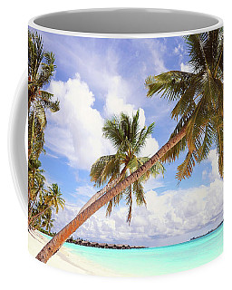 Whispering Palms. Maldives Coffee Mug