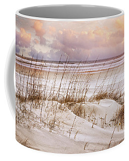 Coffee Mug featuring the photograph Whispers In The Dunes by Debra and Dave Vanderlaan