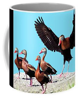 Whistling Ducks Coffee Mug