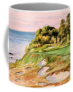 Whistling Straits Golf Course 17th Hole Coffee Mug
