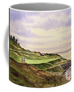 Whistling Straits Golf Course Hole 7 Coffee Mug by Bill Holkham