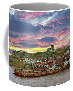 Whitby Abbey Uk Coffee Mug
