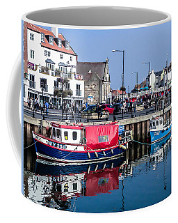 Whitby Harbor, United Kingdom Coffee Mug