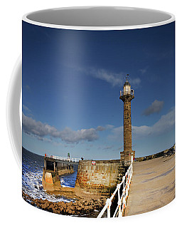 Whitby Lighthouse Coffee Mug