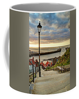 Whitby Sun Set Coffee Mug