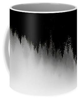 White And Black Trees Coffee Mug