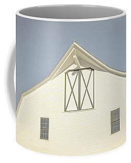 White Barn South Woodstock Vermont Coffee Mug by Edward Fielding