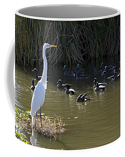 Coffee Mug featuring the photograph White Beauty by Phyllis Denton