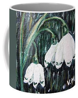 White Bells Coffee Mug by Vesna Martinjak