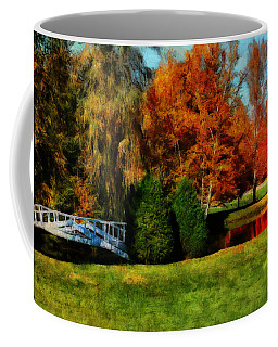 White Bridge Oro Coffee Mug