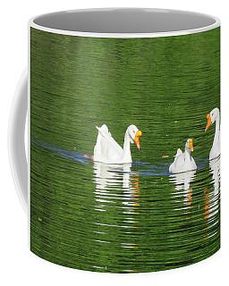 White Chinese Geese Coffee Mug