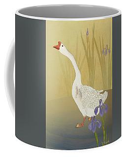 Chinese White Swan Goose Coffee Mug