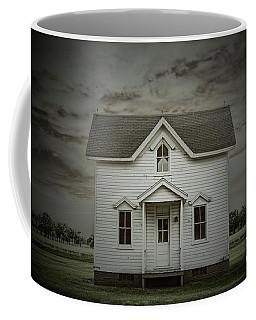 White Clapboard Coffee Mug