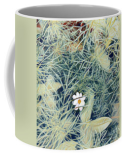 White Cosmo Coffee Mug
