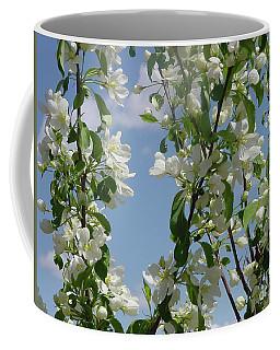 White Crabapple Coffee Mug