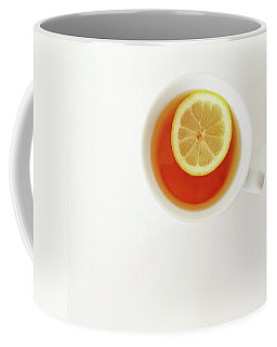 White Cup Of Tea With Lemon Coffee Mug