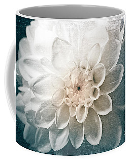 White Dahlia Coffee Mug