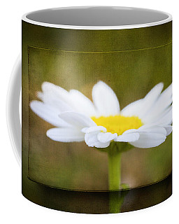 White Daisy Coffee Mug by Eduard Moldoveanu