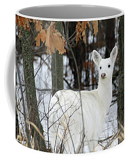 White Deer Vistor Coffee Mug