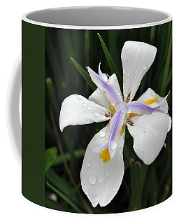 White Dew Petals Coffee Mug