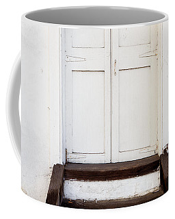 White Door Coffee Mug